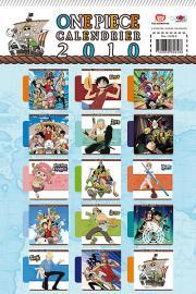 Derrière du calendrier One Piece 2010