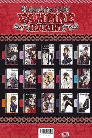 Derrière du calendrier Vampire Knight  2010