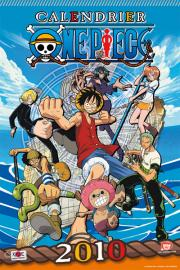 Devant du calendrier One Piece  2010