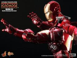 MARK III Figure (Battle Damaged Version) Hot Toys