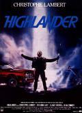 Affiche d'Highlander
