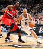 Tony Parker meneur des NBA Spurs