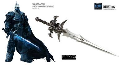 Frostmourne taille réelle (Deuillegivre) - Roi Lich (World of Warcraft)