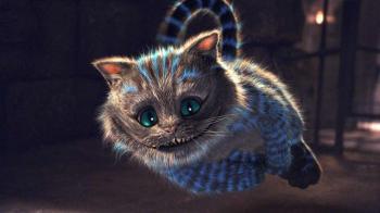 Le chat d'Alice au pays des merveilles
