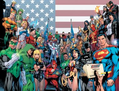 Image des supers héros DC comics