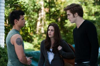 Photo de Twilight avec Edward Cullen, Bella et Jacob