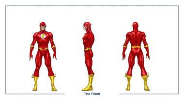 Personnage de Flash (CD)