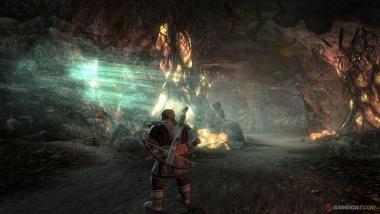 Capture du jeu video : Seigneur des anneaux :  la guerre du nord