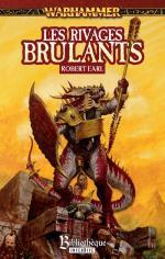 Couverture du roman les riaves brulants (Warhammer)