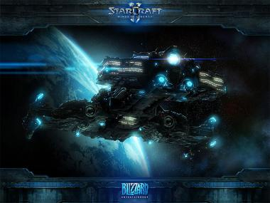 Fond d'écran officiel Star craft 2