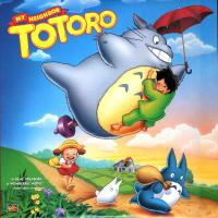 pochette LD américain de Totoro (face)