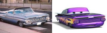 Ramone : Chevrolet Impala lowrider 1959