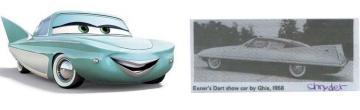 Cars : Flo