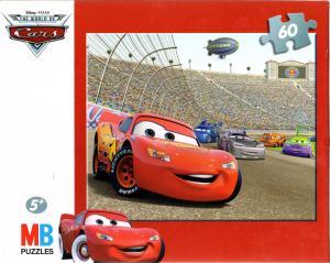 Puzzle MB de 60 pièces packaging face (Cars - 2008)