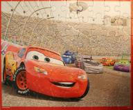 Puzzle MB de 60 pièces (Cars - 2008)