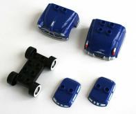 contenu de la boîte : Doc Husdon démonté avec deux yeux différents (2007) Cars