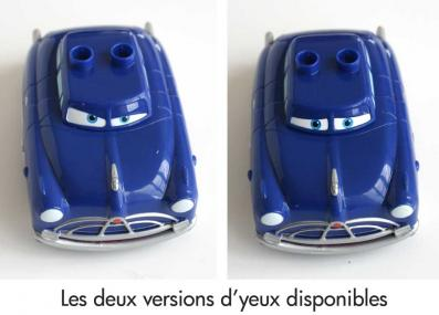 Doc Husdon avec deux regards différents (2007) Cars
