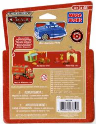 Packaging dos Mega-bloks Doc Husdon (2007) Cars