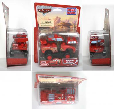 Packaging Mega-bloks : Flash McQueen (2007) Cars