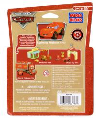 Packaging dos Mega-bloks : Flash McQueen (2007) Cars