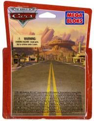 Packaging face Mega-bloks : Flash McQueen (2007) Cars