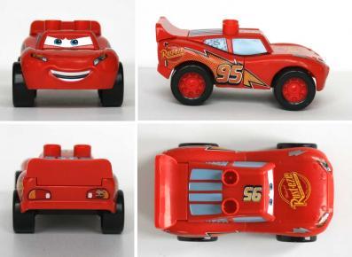 Mega-bloks : Flash McQueen (2007) Cars