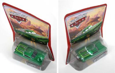 Ramone vert : The World of Car N°17 - 2002 (Cars - Pixar)