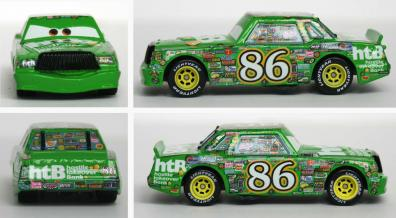 Mattel : The World of Car N°24 - Chick Hicks (2008)