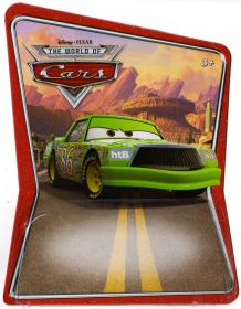Packaging Mattel : The World of Car N°24 - Chick Hicks (2008)