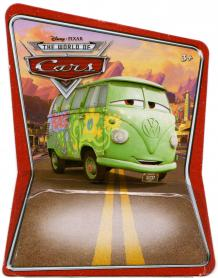 Packaging Mattel : The World of Car N°38 - Fillmore (2008)