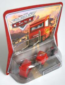 Packaging Mattel : The World of Car N°55 – Michel – Mon nom n'est pas Chuck (2008)