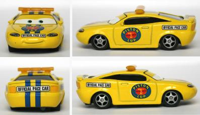 Mattel : The World of Car N°65 - Pace Car - Charlie Checker (2008)