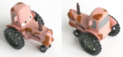 Mattel : Cars Supercharged - Tracteur Chewall (Cars - Pixar)