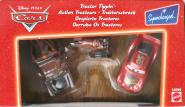 Mattel : Cars Supercharged – Pack Action Tracteur : Flash, Martin, Tracteur (Cars - Pixar)