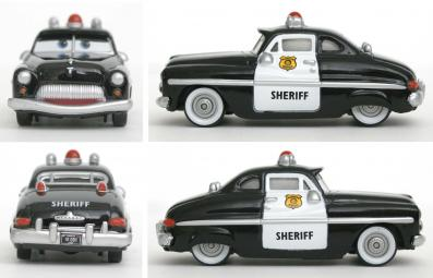 Mattel : Cars Supercharged - Sheriff (Cars - Pixar)