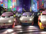 Geisha à la sauce Cars (Tokyo Mater - Pixar Cars)
