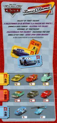 Mattel : Race O Rama N°05 - Flash McQueen Dinoco