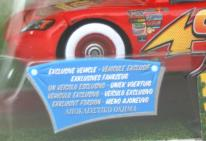 Mattel : Race O Rama - Jaune N°109 - Flash McQueen Vision nocturne (Pixar)