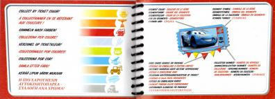Mini Catalogue (Mattel : Race O Rama - Jaune N°109 - Flash McQueen)