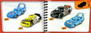 Mini Catalogue (Mattel : Race O Rama - Jaune N°109 - Flash McQueen)