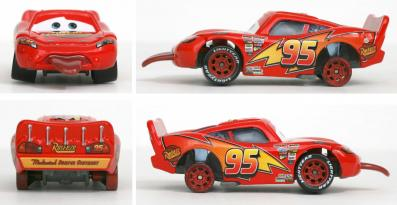 Mattel : Race O Rama - Flash McQueen tire la langue (Cars - Pixar)