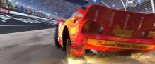 Flash éclate ses pneus arrières juste avant la ligne d'arrivée.