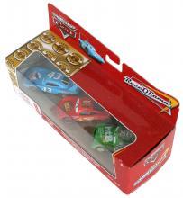 Mattel : Race O Rama – Pack ligne d'arrivée : King, Flash, Chick (Cars - Pixar)