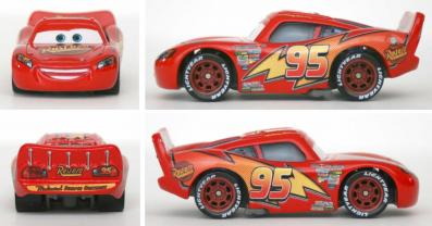 Mattel : Race O Rama - Orange N°001 - Flash McQueen (Pixar)