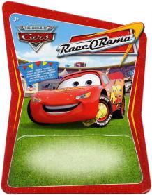 Mattel : Race O Rama - Jaune N°073 - Flash McQueen avec sabot (Pixar)