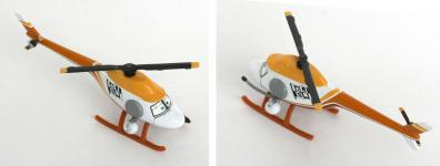 Mattel : Race O Rama – Rouge N°069 – Hélicoptère Ron Hover (Pixar - Cars)