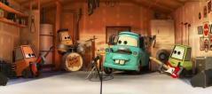 Le groupe de Martin répétait dans un garage