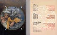 Intérieur du digipack  avec les épisodes 16 à 25 (plus bonus) de la box collector Fullmetal Alchemist