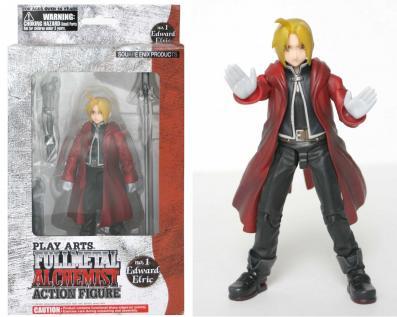 Détail de la figurine de la box collector Fullmetal Alchemist