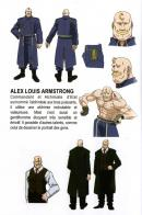 Model sheet extrait du livret d'information - Fullmetal Alchemist Box DVD collector 1 (Dybex - 2008)